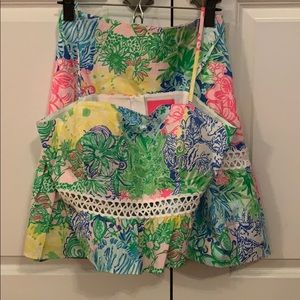 Lilly Pulitzer 2 piece skirt and top